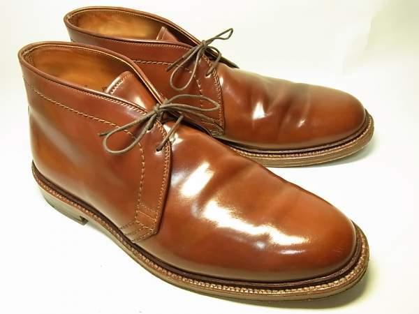 6/19 靴の新着情報:ウィスキーチャッカーとコードバンモディファイドが到着!! [新着商品のお知らせ] [編集]